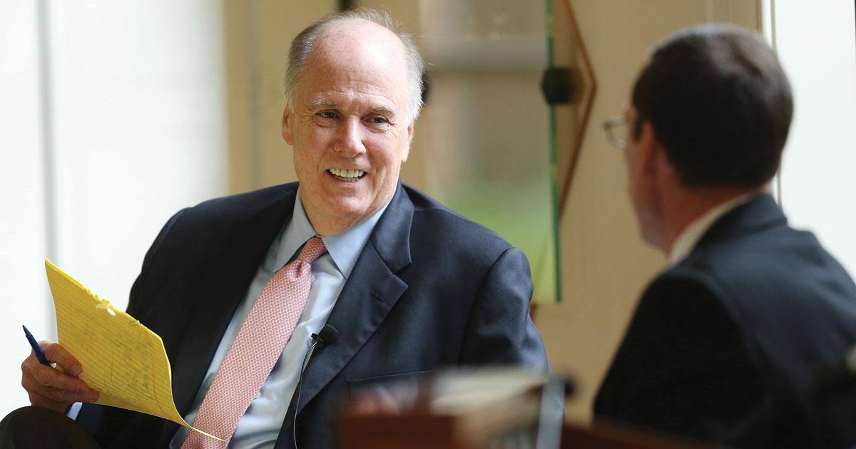 Former National Security Adviser Tom Donilon '85