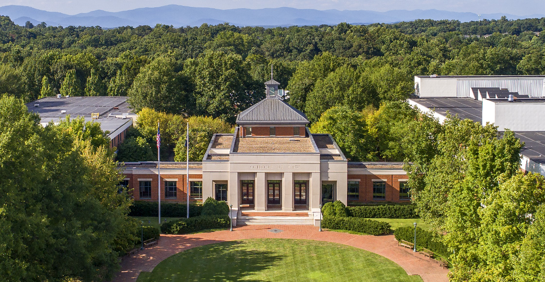 UVA Law building