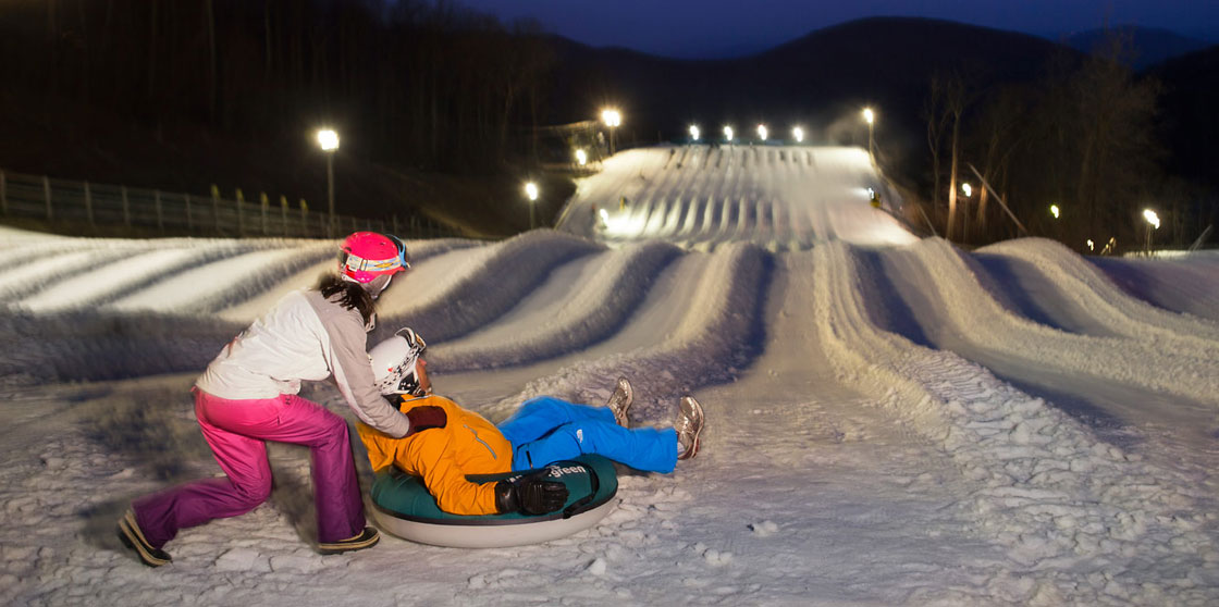 #24: Ski or tube at Wintergreen
