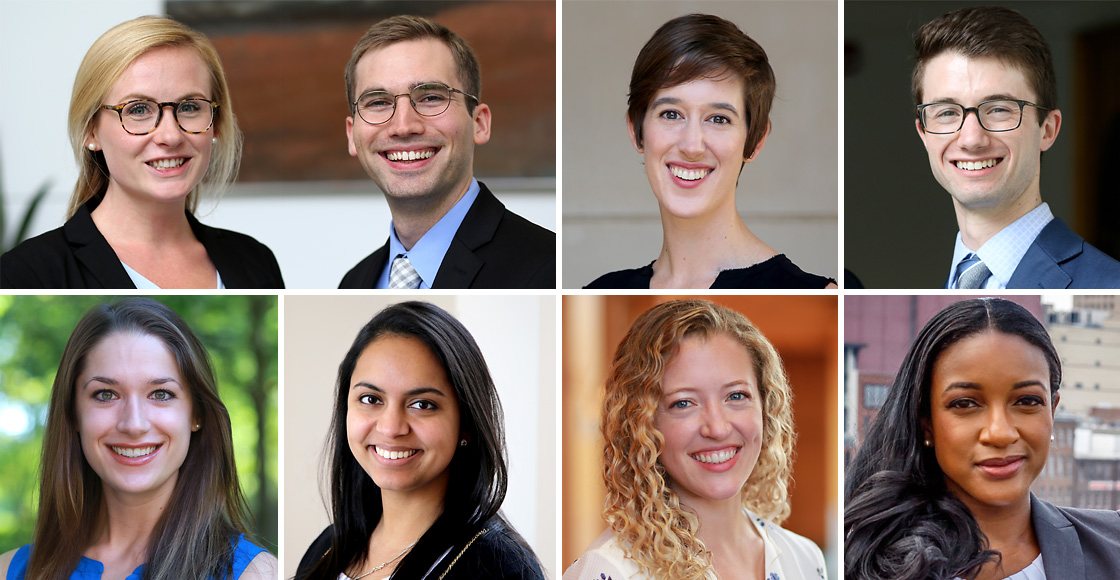 Members of the Class of 2019 notched notable achievements: Katharine Collins and Christopher Macomber won the 90th William Minor Lile Moot Court Competition; A. Cameron Duncan and David Goldman were named this year's recipients of the Rosenbloom Award; and Kendall Burchard, Aparna Datta, Amanda Lineberry and Jianne McDonald were named this year's Ritter Scholars.