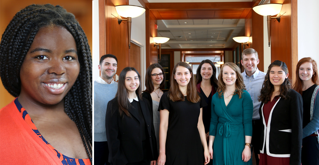 Jasmine Lee '20 was elected president of the Student Bar Association. Laura Toulme '20 was named editor-in-chief of the Virginia Law Review.