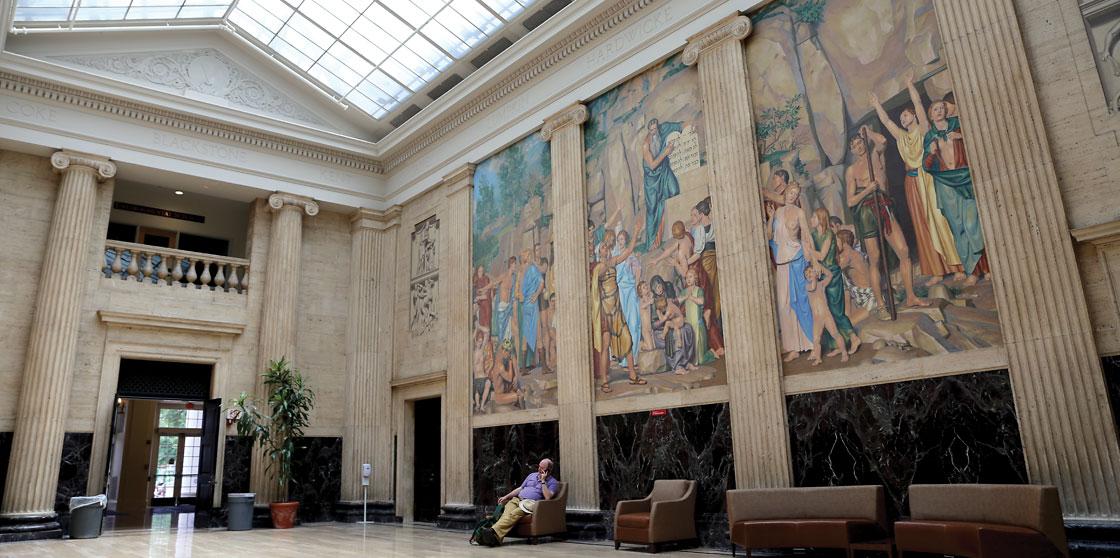 Clark Hall Murals