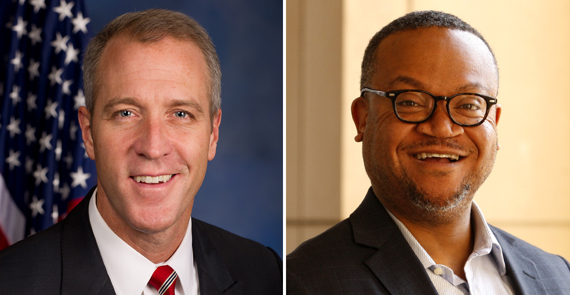 U.S. Rep. Sean Patrick Maloney '92 and Cordel Faulk '01
