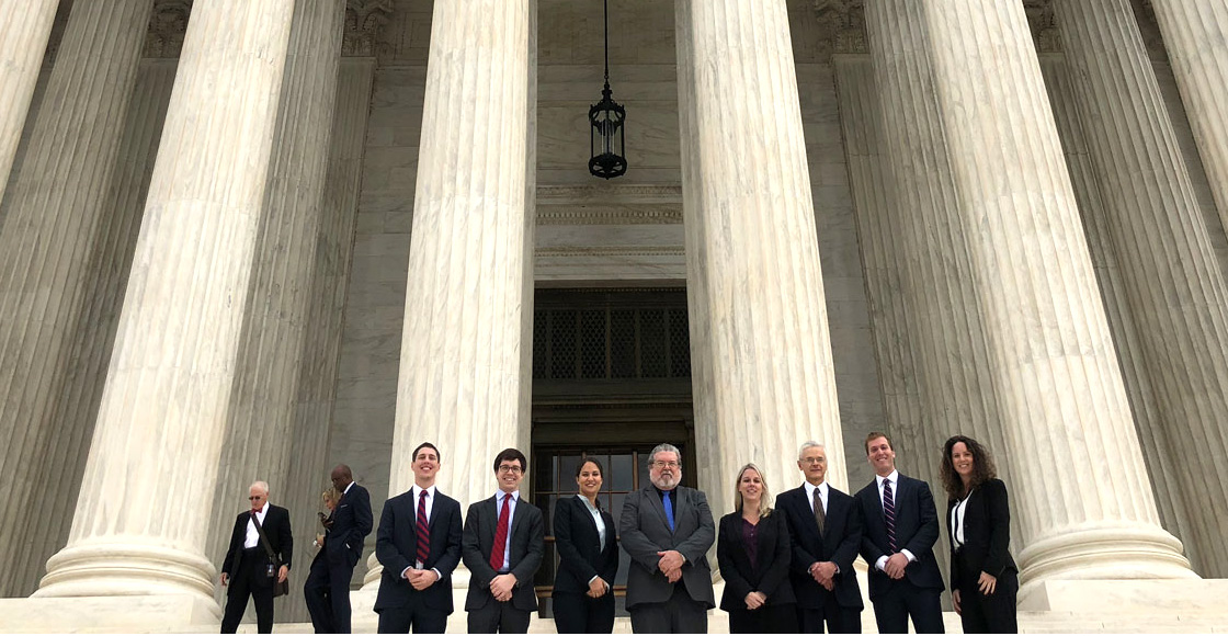 The Supreme Court Litigation Clinic won a unanimous decision in January that may benefit Social Security claimants. Professor Daniel Ortiz, the clinic's director, presented oral argument.