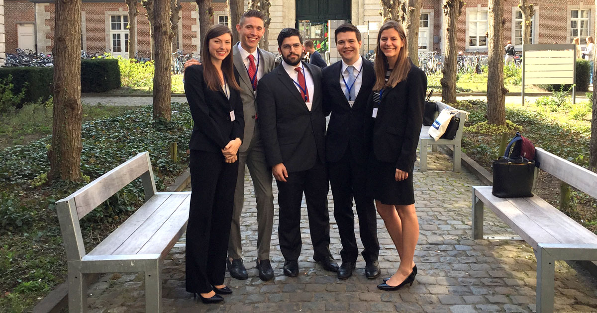 International and European Tax Moot Court competition team