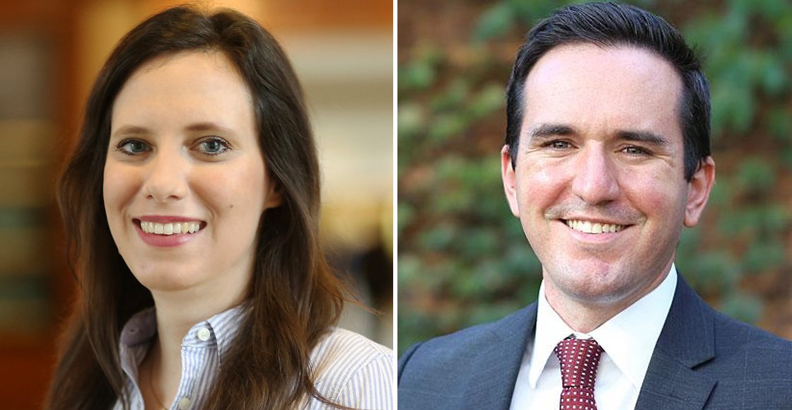 Jessica Wagner '15 will clerk for the U.S. Supreme Court in the 2019 term, and Dan Richardson '18 will serve as a Bristow Fellow for the U.S. Solicitor General's Office.