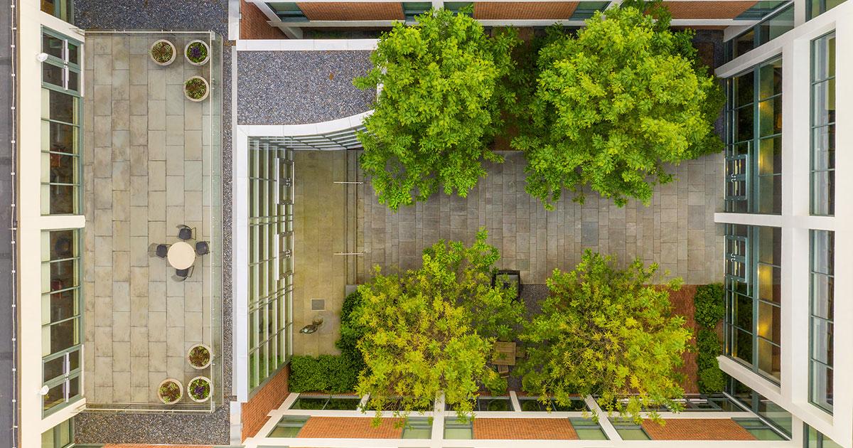 Purcell Garden aerial