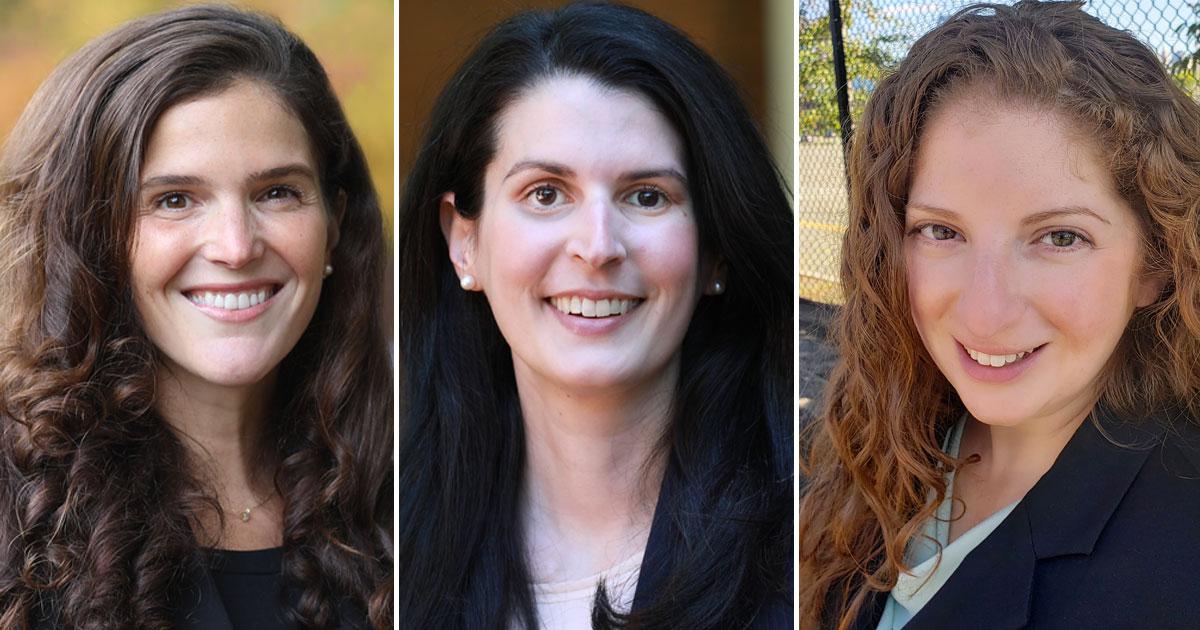 Natalie Blazer, Kristyn Judkins, Leah Gould