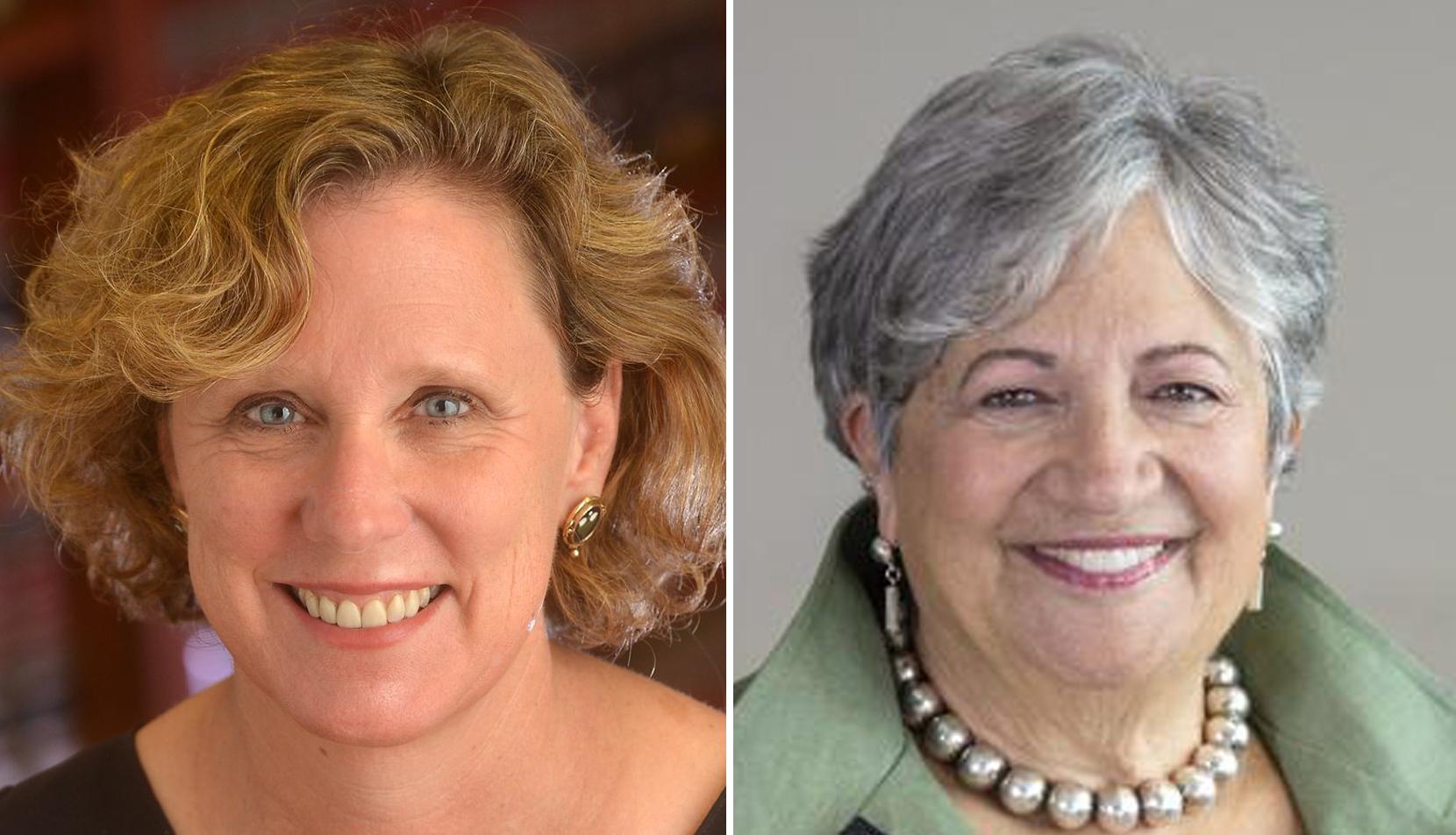 Mary Nichols and Ann Carlson