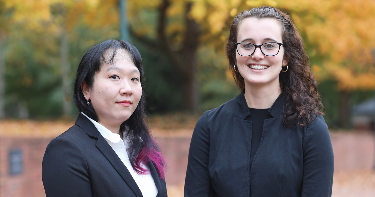 First-generation students, including Jenny Kwun '21 and Nicole Pidala '21, formed a new organization to help mentor and advise their peers.
