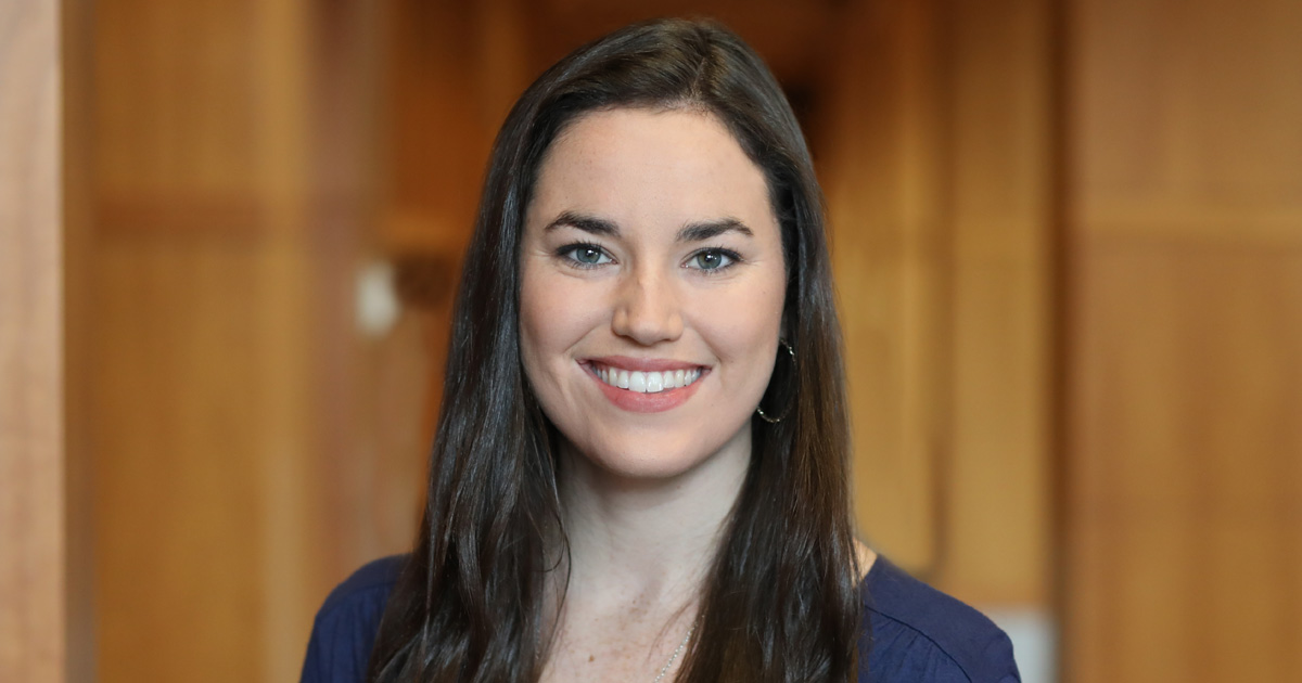 Katharine Janes '21 was elected president of the Student Bar Association, beginning her term in March.