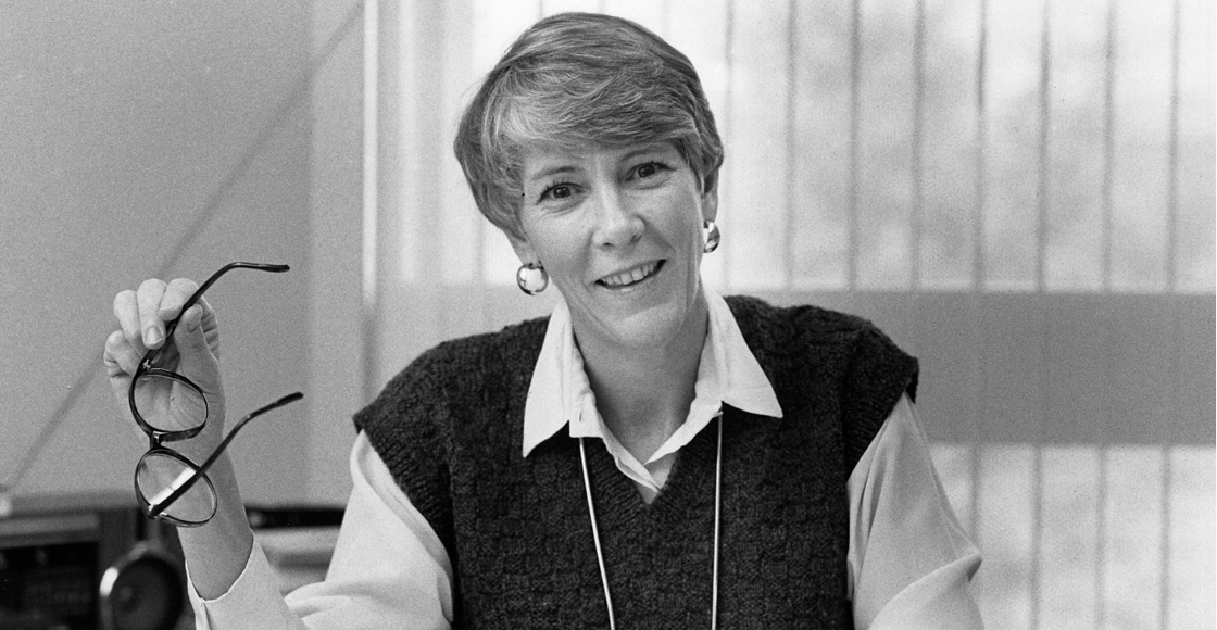 Professor Lillian R. BeVier, who joined the faculty in 1973, was the school's first tenured female law professor (pictured in 1985).