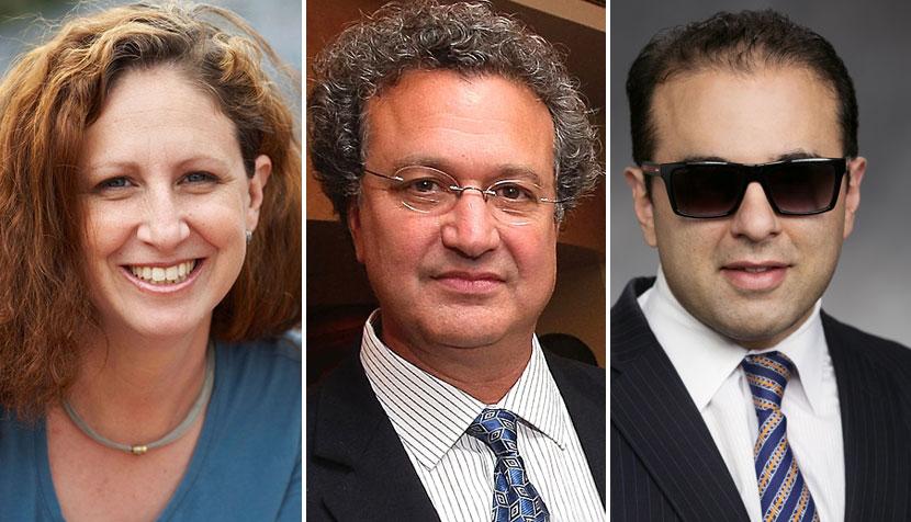 Dahlia Lithwick, Richard Cohen and Cyrus Habib
