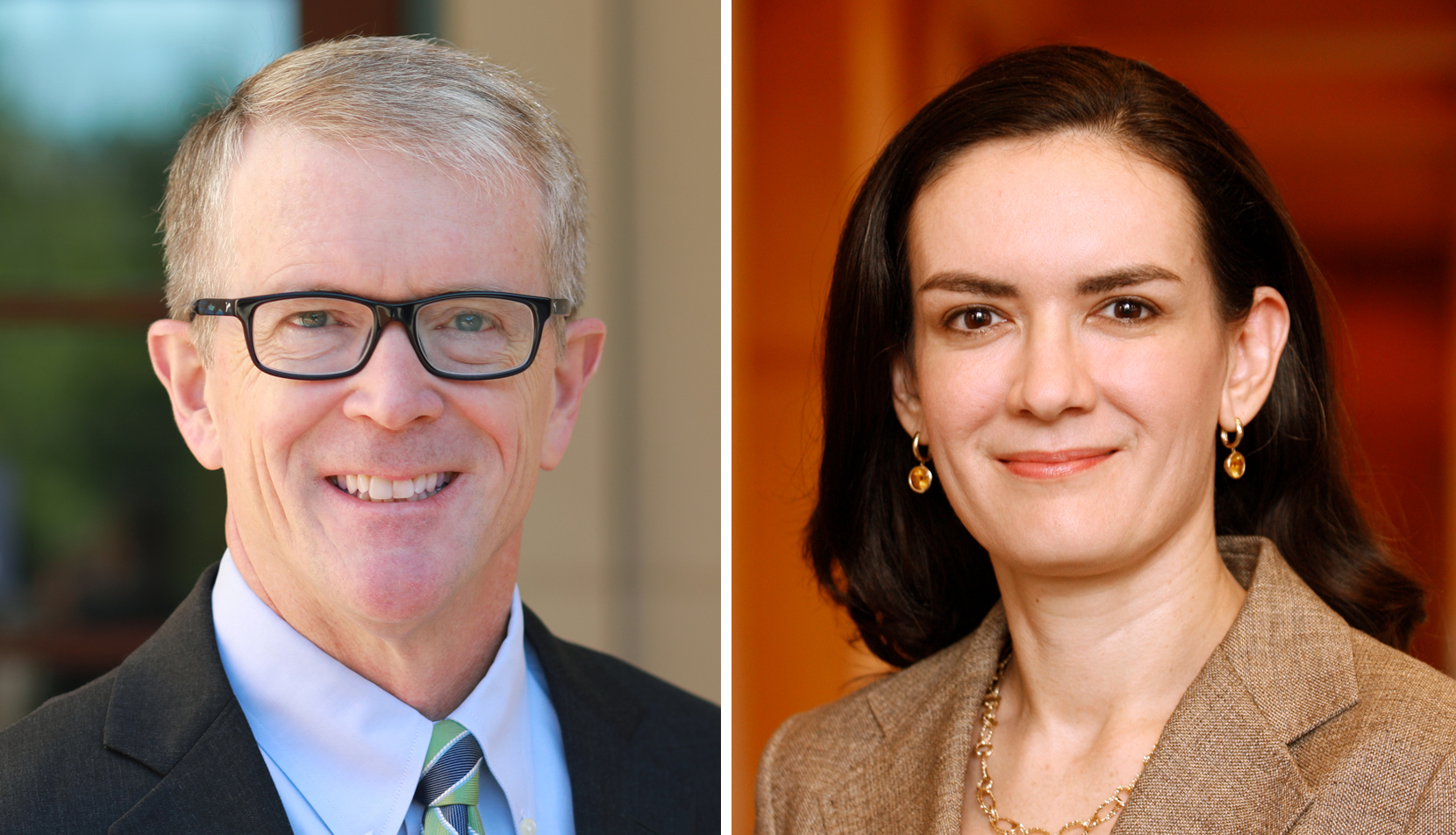 John Duffy and Ruth Mason