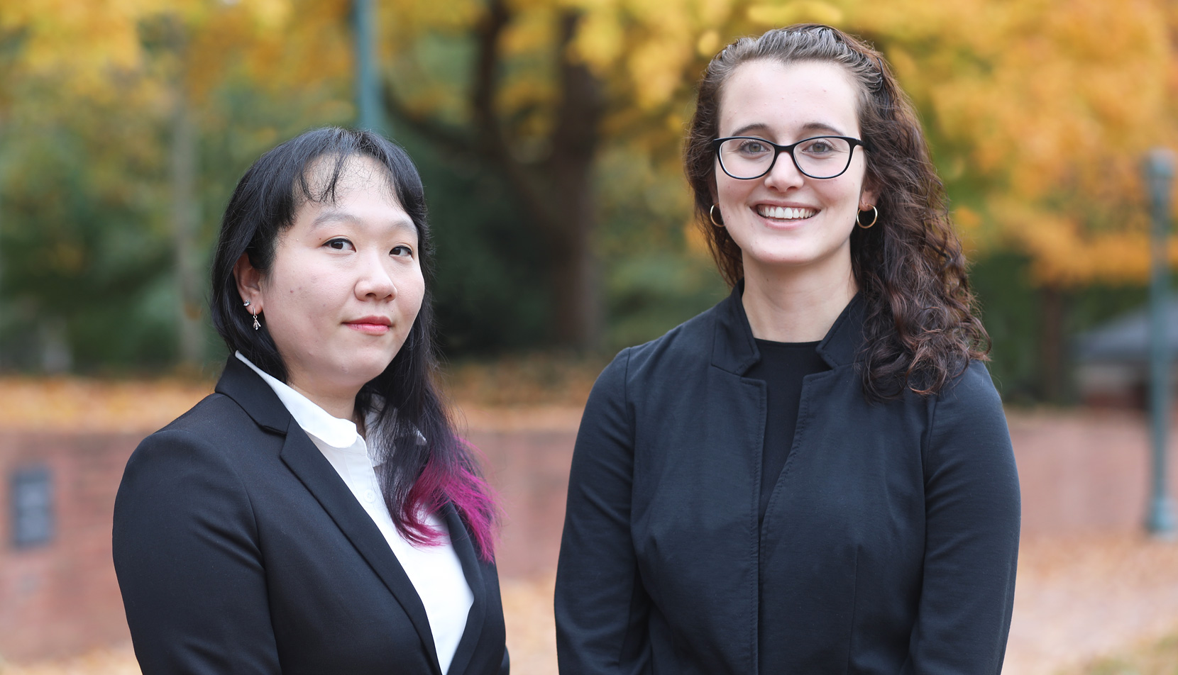 Jenny Kwun and Nicole Pidala