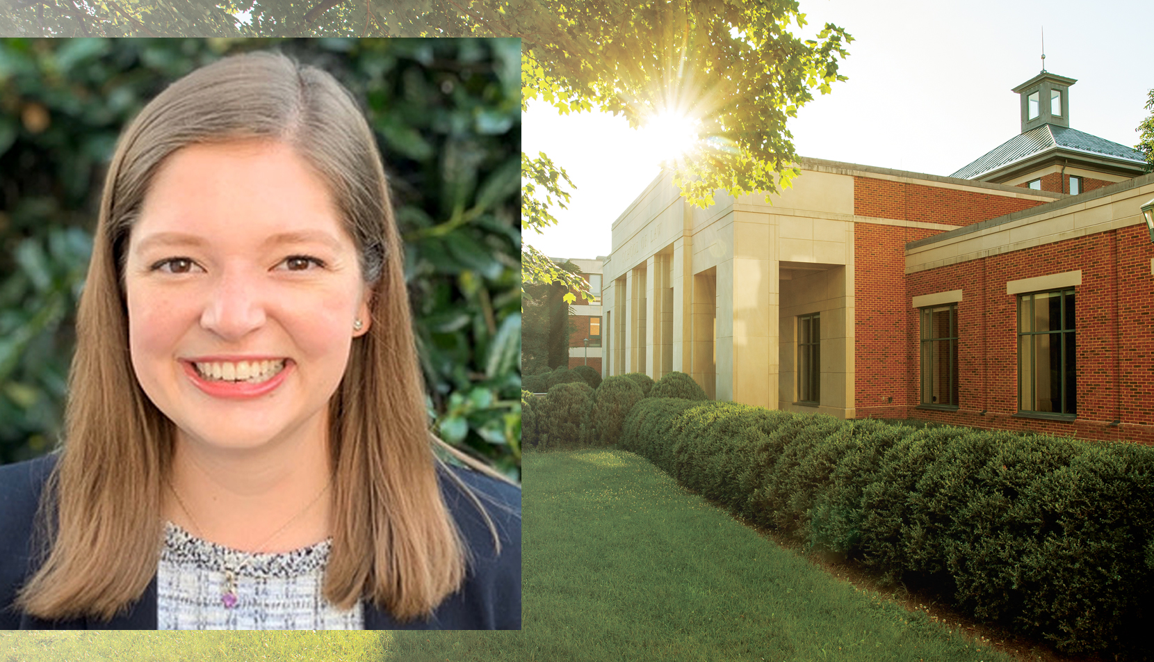Mariette Peltier and UVA Law School