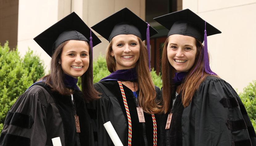 Madison Marcus, Arianna Lacerte and Hannah Dunham