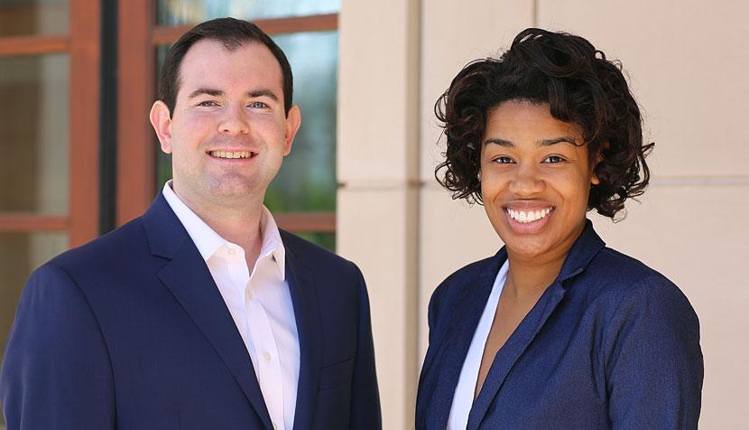 Jonathan Babcock and Keyawna Griffith