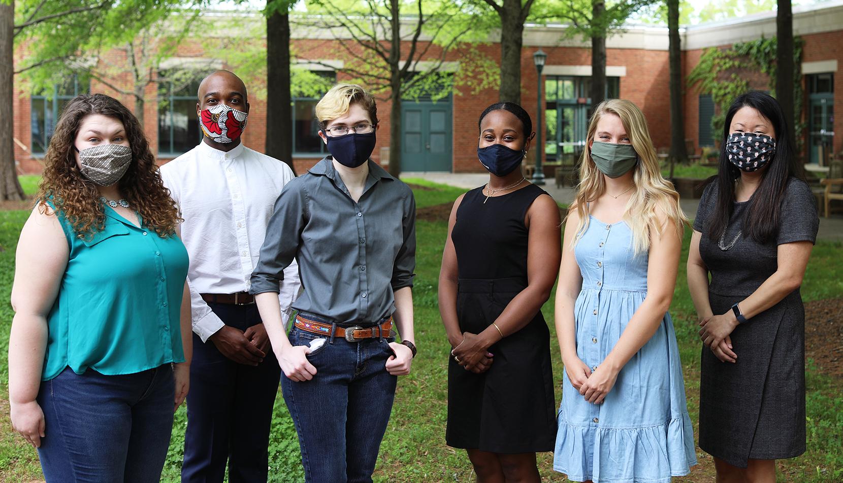 UVA Law students and Crystal Shin