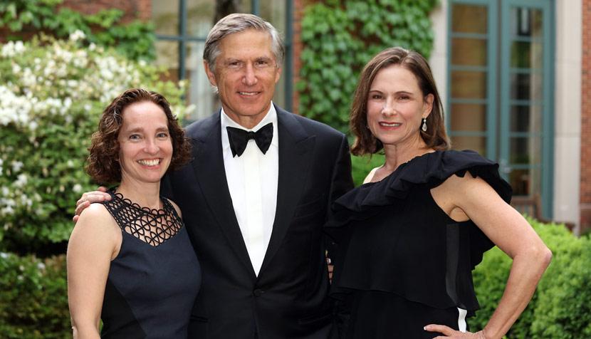 Dean Risa Goluboff with Martha and Bruce Karsh