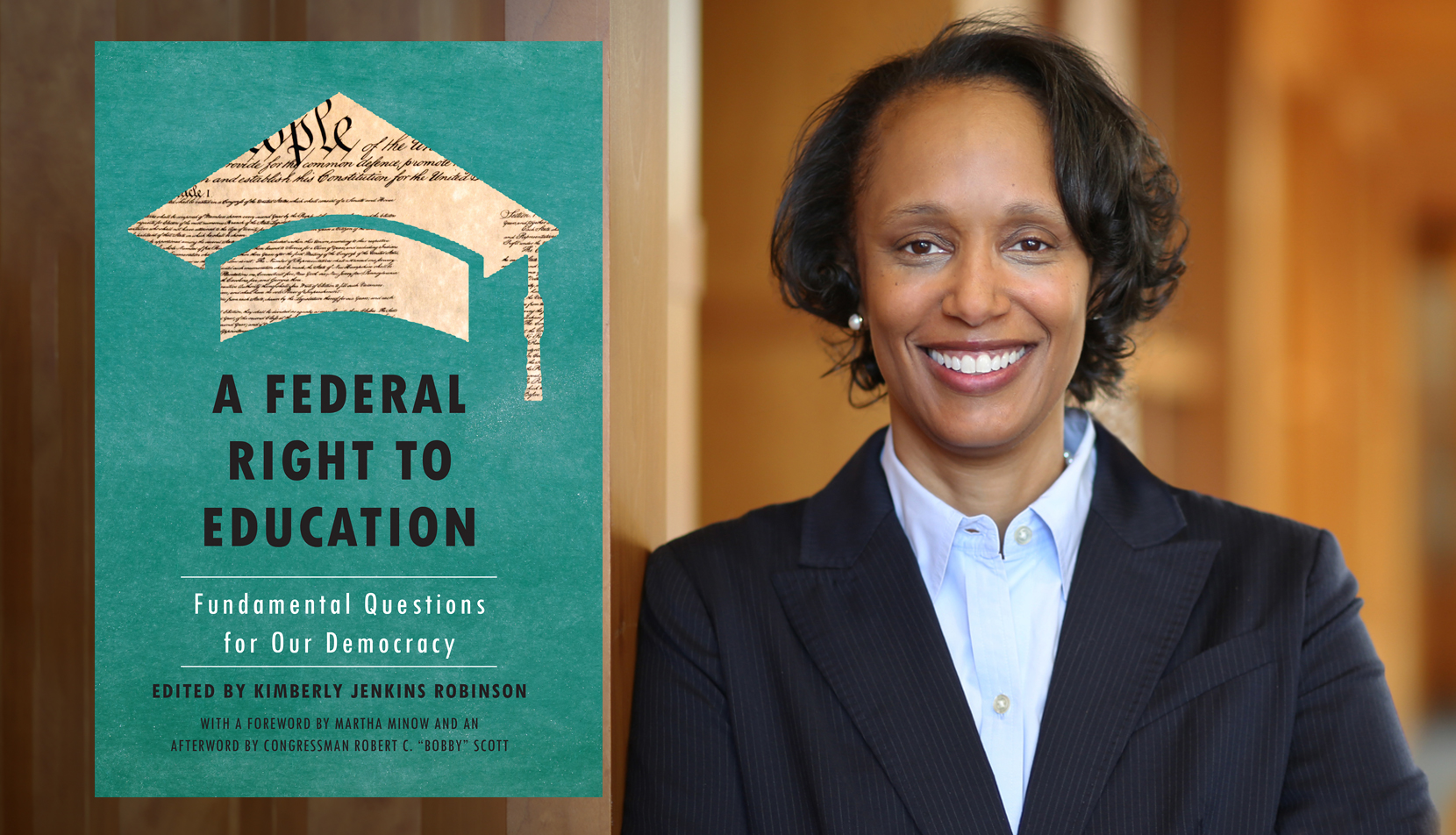 """Kimberly Robinson and """"A Federal Right to Education: Fundamental Questions for Our Democracy"""""""