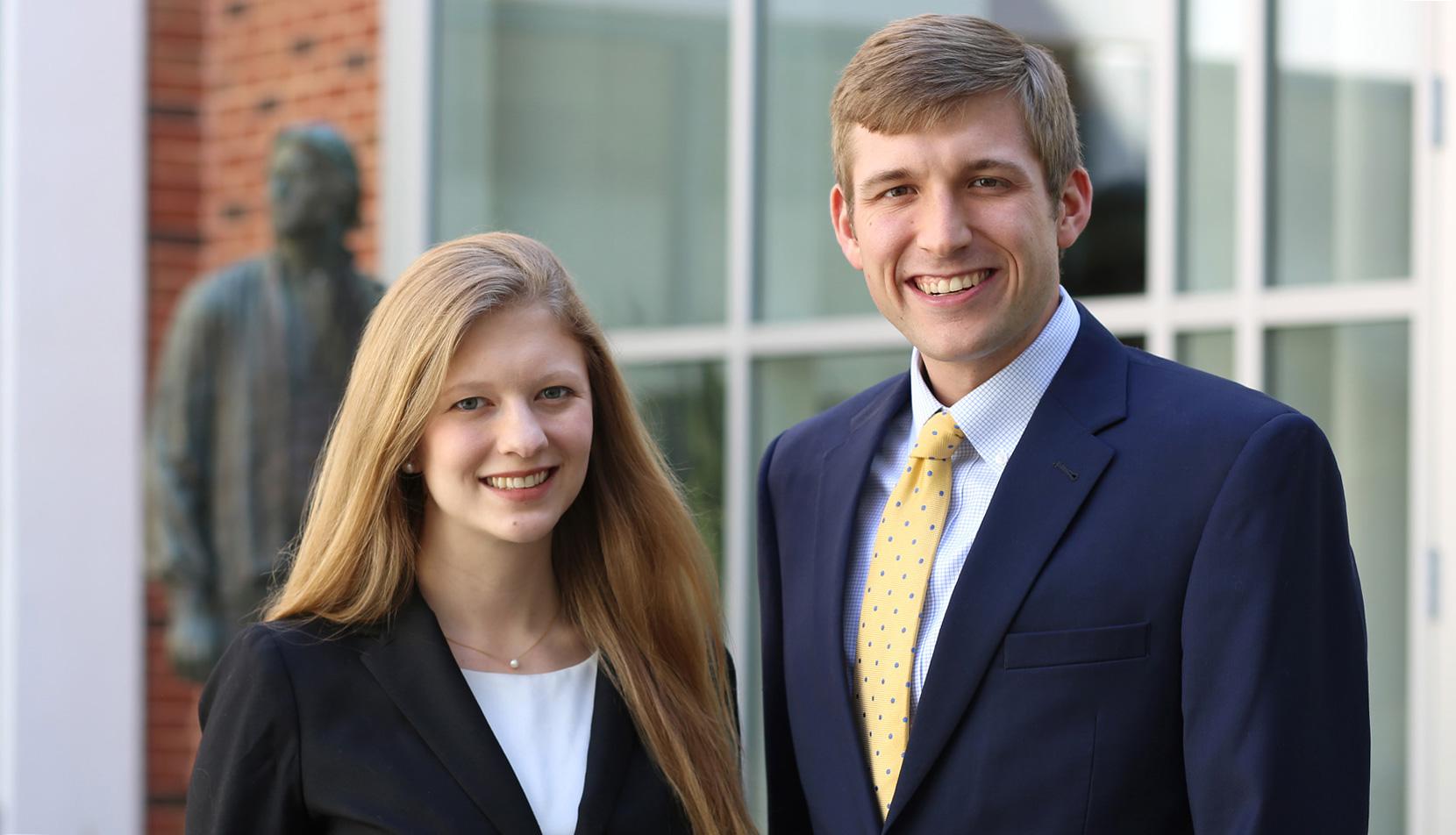 Megan Mers and Henry Dickman