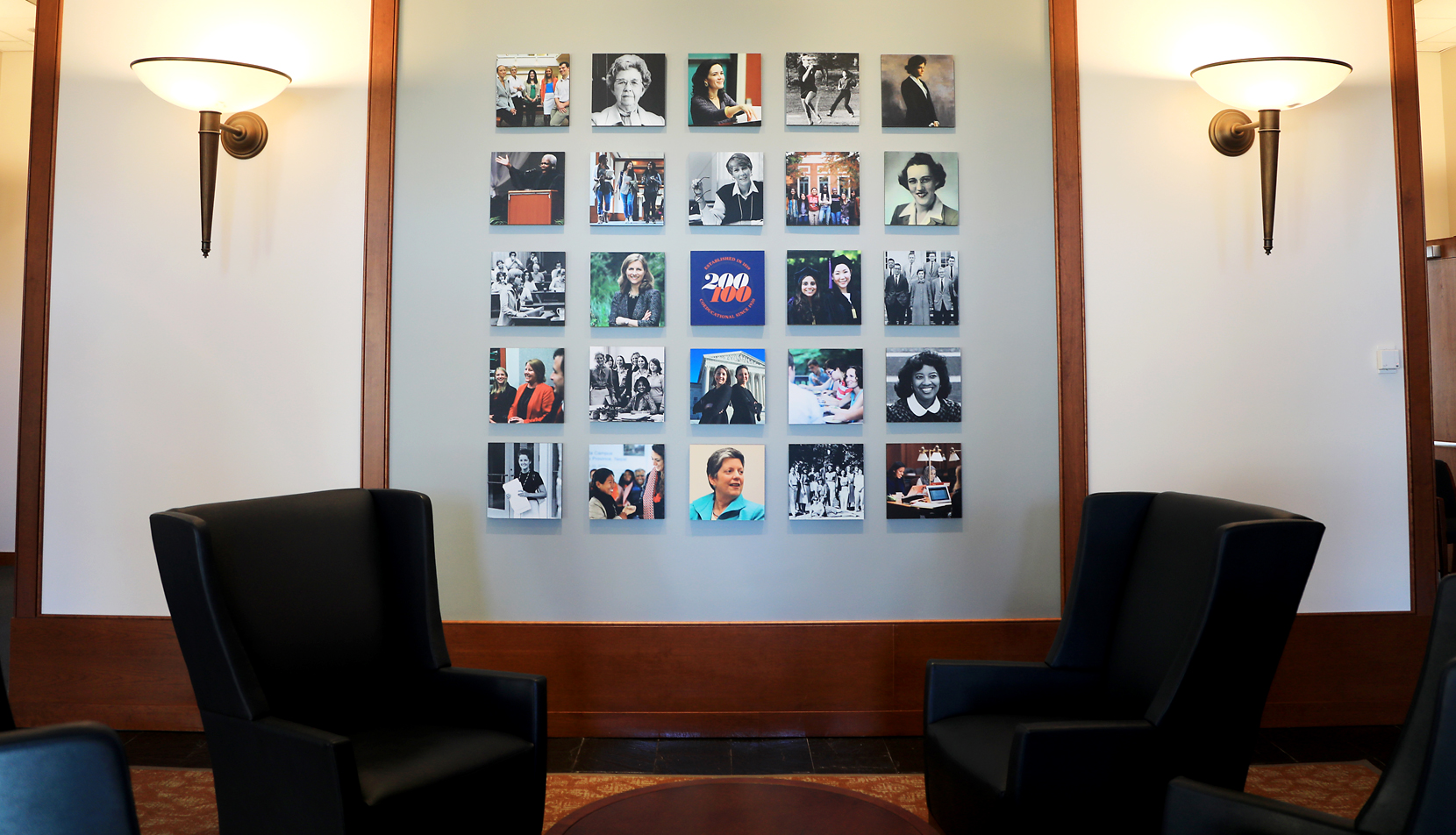 Photo collage of UVA Law women