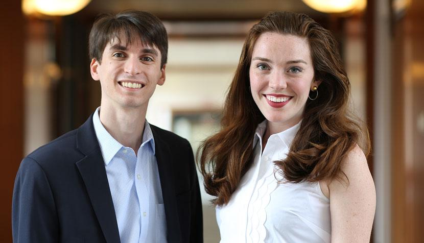 George Carotenuto and Megan Keenan