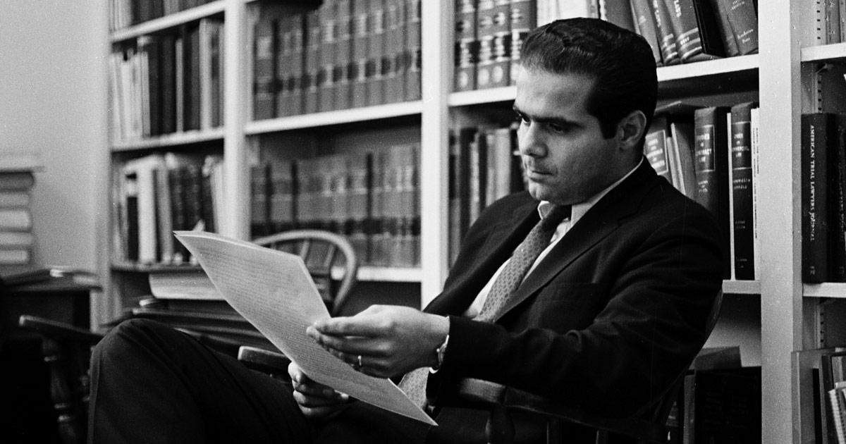 Scalia A Court of One