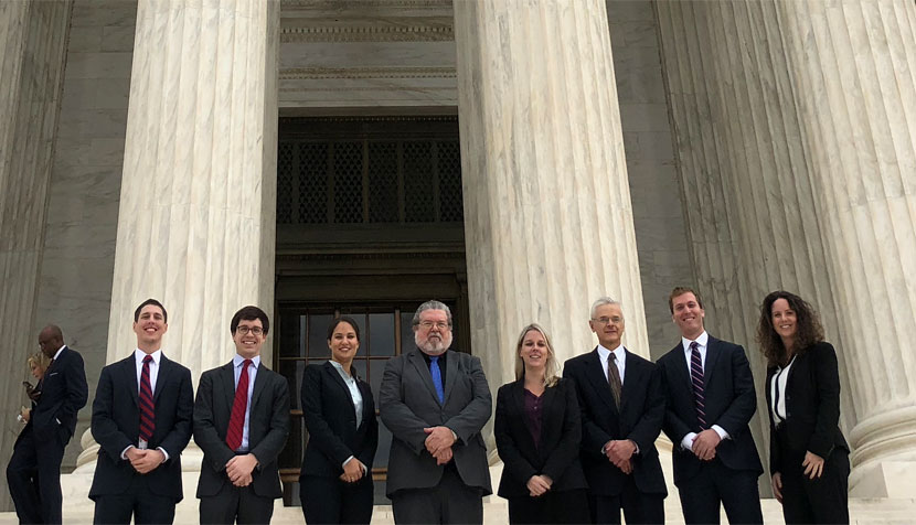 Supreme Court clinic at the court