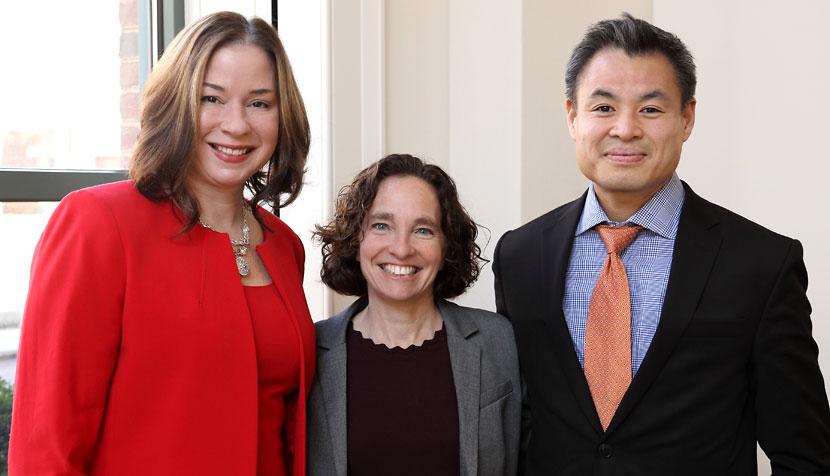 Julia Pierce, Chinh Q. Le and Risa Goluboff