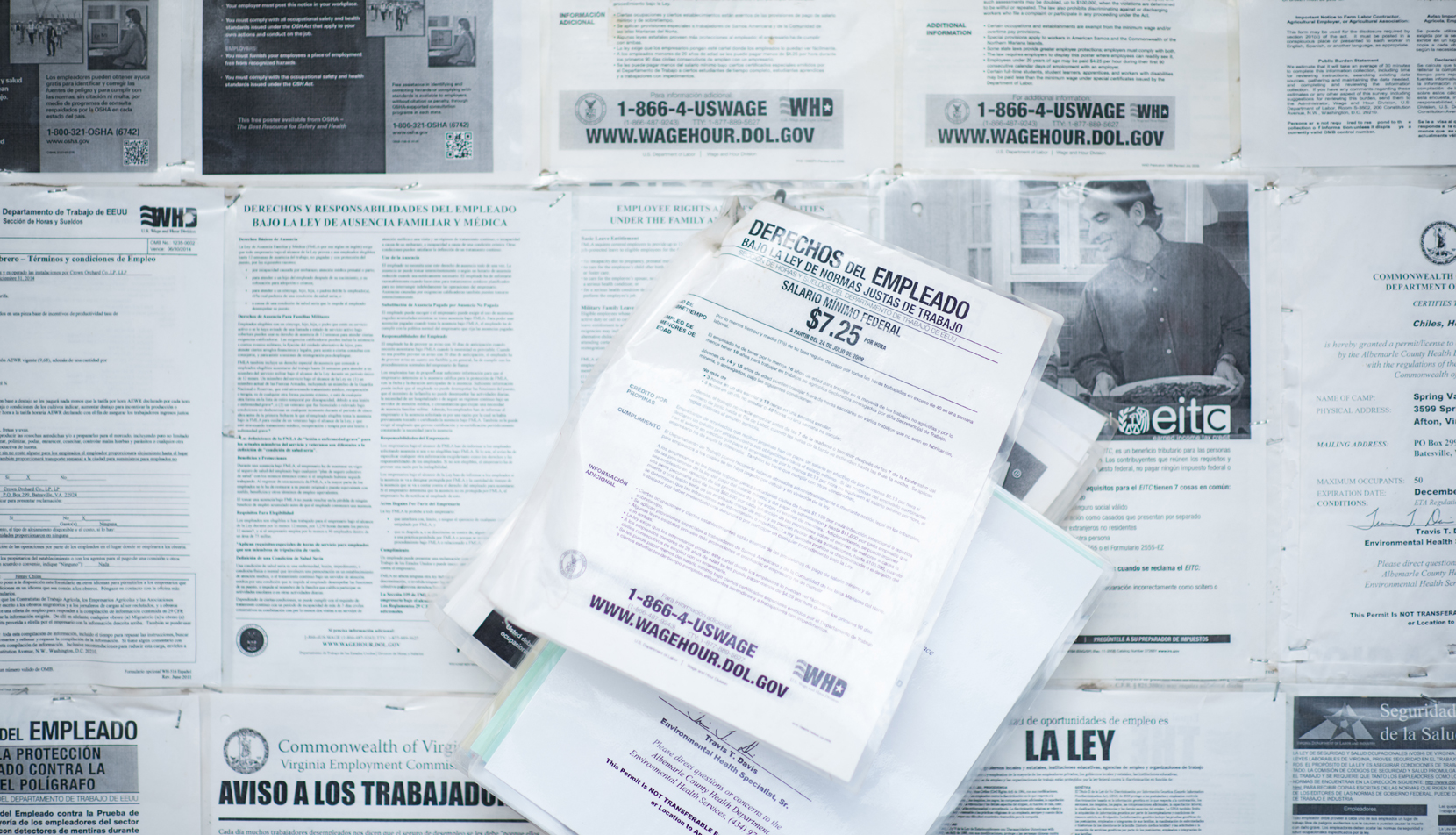 Spanish-language flyers