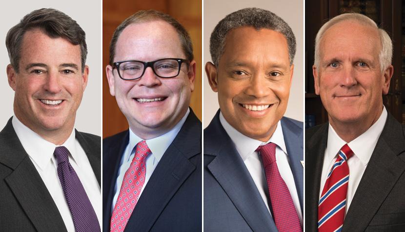 Douglas Gansler, Toby Heytens, Karl Racine, Herbert H. Slatery III