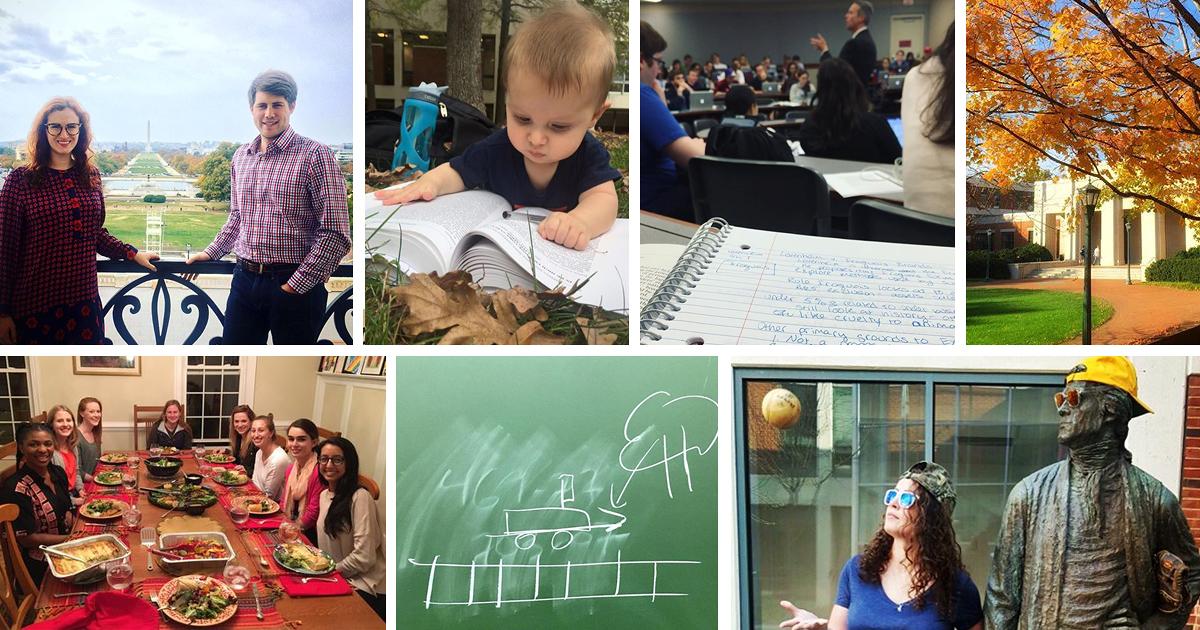 UVA Law collage