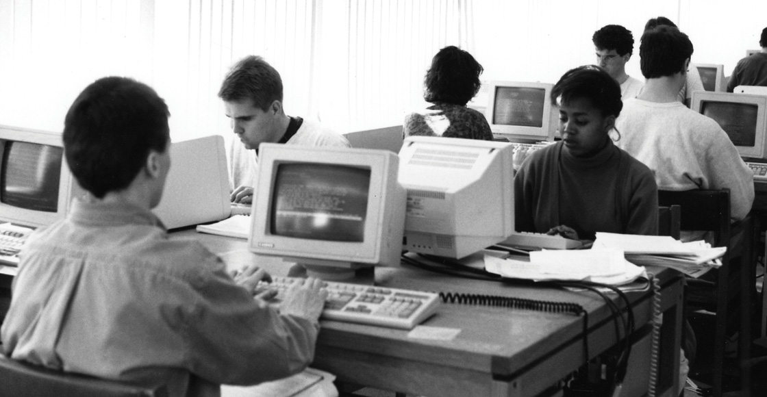Remember the computer lab?