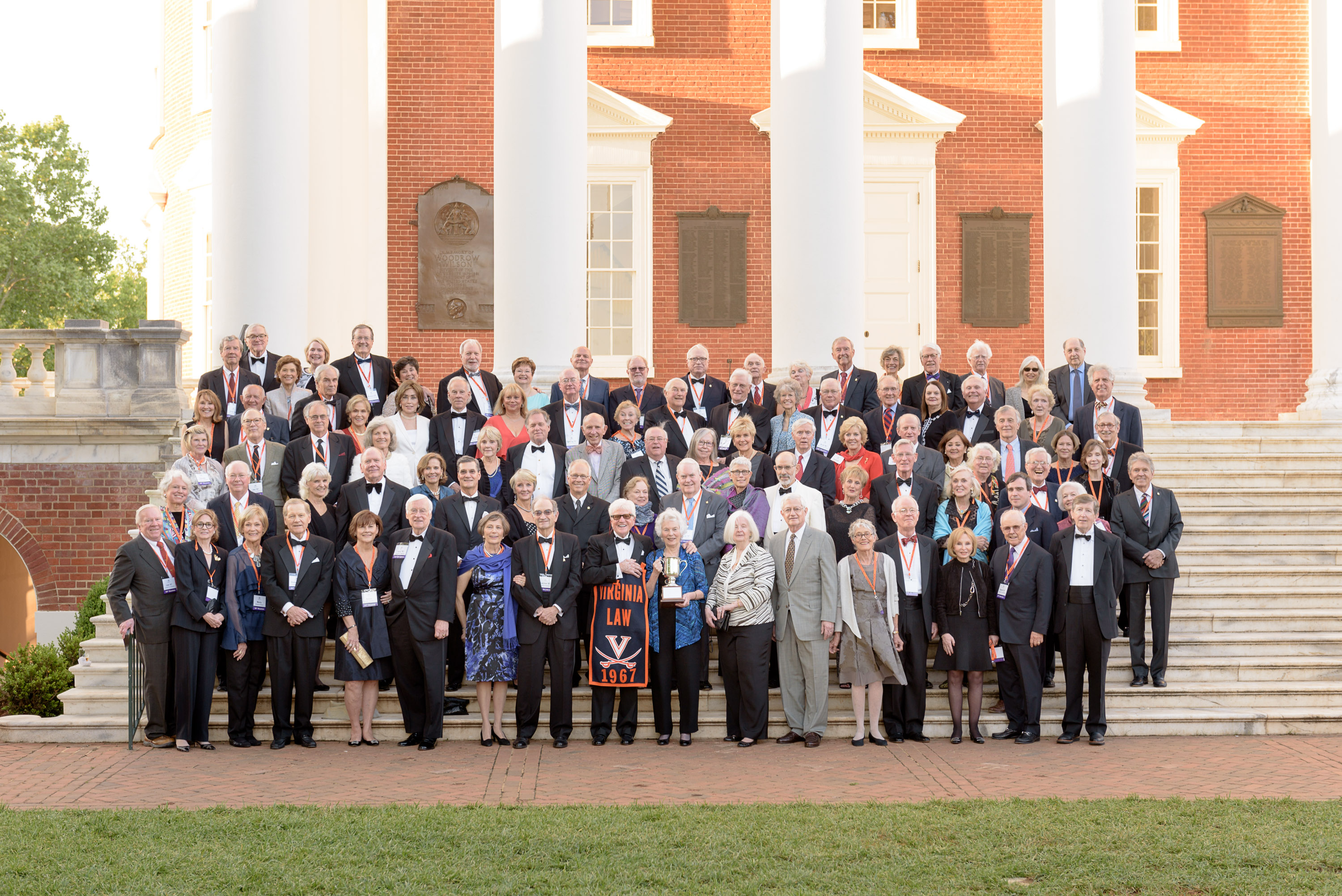 Class of 1967 alums at Law Alumni Weekend