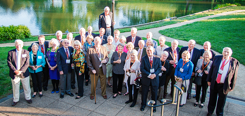 Class of 1962 alums at Law Alumni Weekend