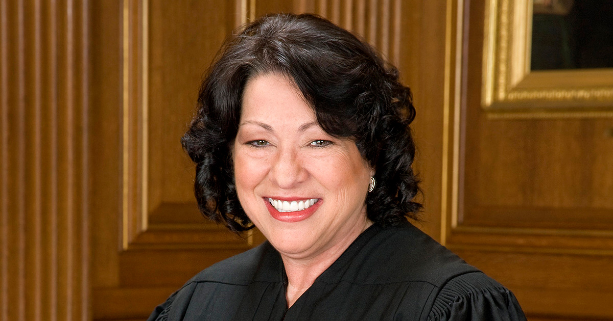 U.S. Supreme Court Justice Sonia Sotomayor was named the 2020 recipient of the Thomas Jefferson Foundation Medal in Law in April.