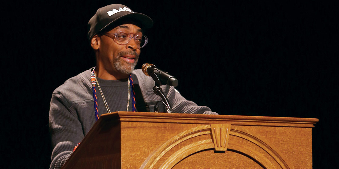 Spike Lee at the Virginia Film Festival