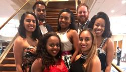 Members of UVA Law's BLSA chapter