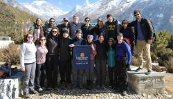 UVA Law students in Nepal