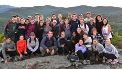 Students in Outdoors at VA Law