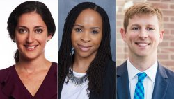 Claire Blumenson, Chioma Chukwu and Chris Kavanaugh