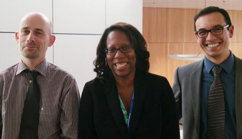 Martin Girsberger, Margo Bagley and Georges Bauer