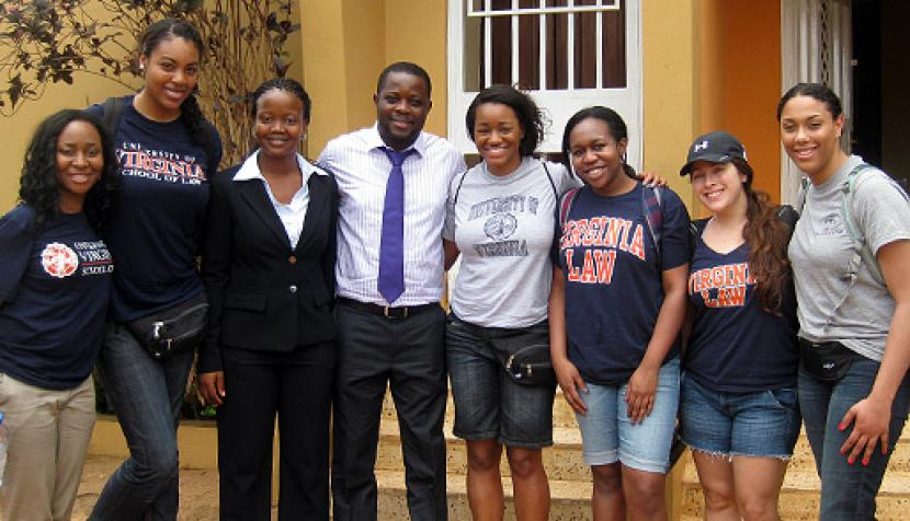 BLSA members traveled to Sierra Leone to volunteer with Timap for Justice.