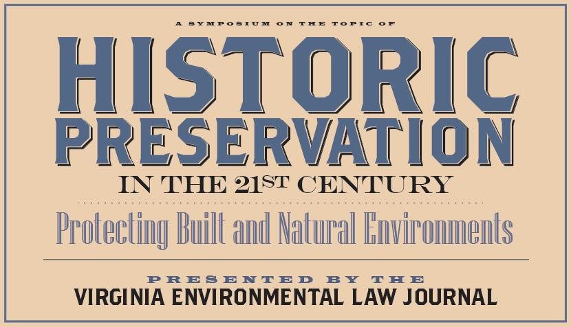 Virginia Environmental Law Journal symposium
