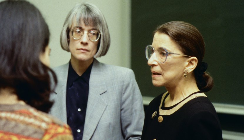 Professor Anne Coughlin and Ruth Bader Ginsburg