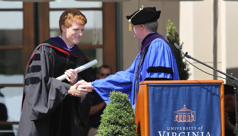 kennedy receives diploma