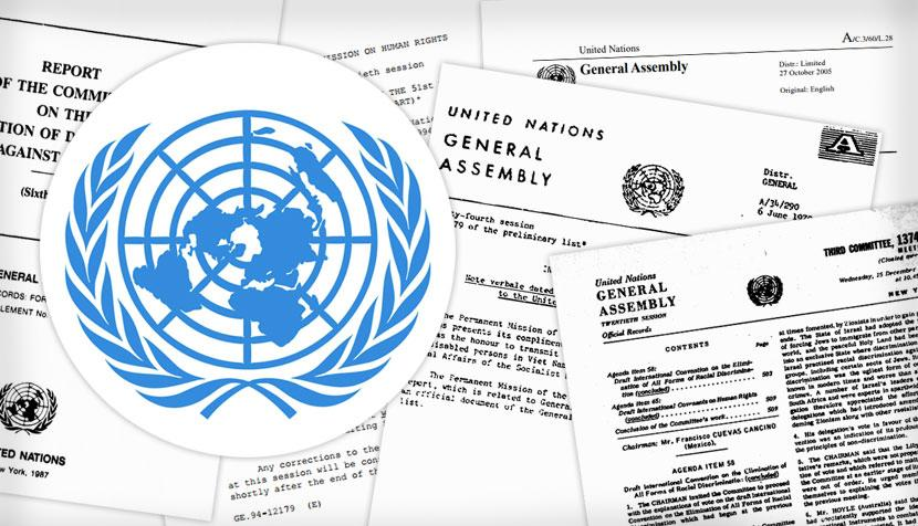 United Nations illustration