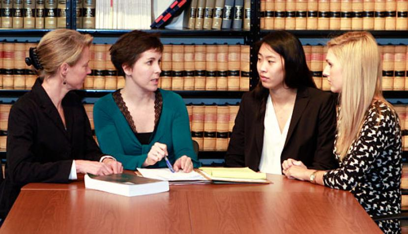 Students Team Up with JustChildren, Law Firm to Help